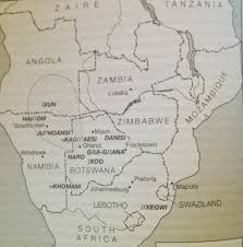 Map Of Southern Africa by How The San Of Southern Africa Used Digital Media As Educational