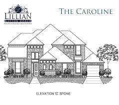 the caroline bryson manor new home floor plan ovilla texas