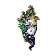 venetian carnival masks peacock venetian style carnival mask wall decor
