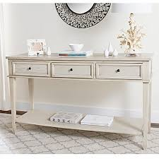 safavieh manelin coffee table safavieh manelin console table in white bed bath beyond