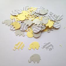 yellow and gray baby shower yellow and gray elephant unisex baby shower favor