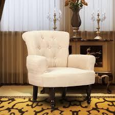 siege capitonné fauteuil capitonné de style bois achat vente fauteuil