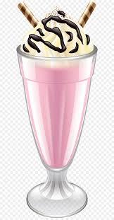 pink milk shake transparent png clip art image free transparent