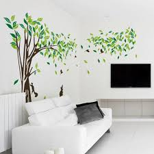 living room wall decals bedroom wall sticker tv background wall