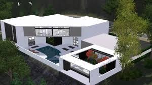 100 sims 3 modern house floor plans 2 story house floor