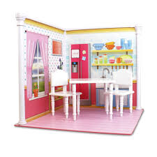 and kitchen interchangeable 18 inch dollhouse playscape