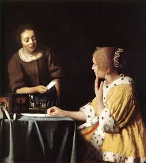 vermeer pearl necklace johannes vermeer woman with a pearl necklace painting 50