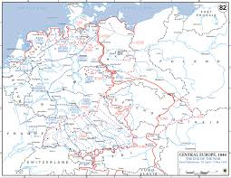 Maps Of Germany by Map Of Wwii Germany May 1945