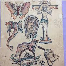 w lyons australia date unknown vintage tattoo flash
