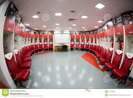 football stadium of spartak football team editorial stock image