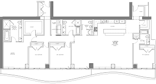 top floor plans aqua u0027s last penthouse a top floor home with a top notch view