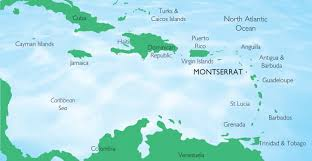 Map Of Caribbean Island by Montserrat Elections 2014 Country Profile