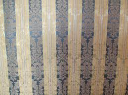 Striped Drapery Fabric Elegant Gold And Blue Striped Upholstery Fabric Drapery Fabric