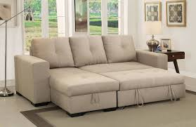 denton leather power reclining sofa denton contemporary style ivory fabric sofa sectional w pull out bed