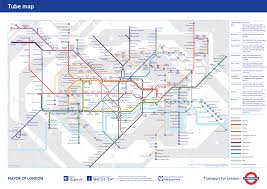Metro Redline Map Underground London Metro Map England