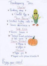 thanksgiving menus thanksgiving menu nufevah