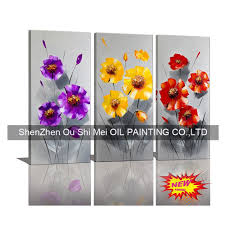 Wall Art Paintings For Living Room Online Get Cheap Flower Portrait Aliexpress Com Alibaba Group