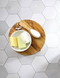 grout and new tile create fresh bathroom look