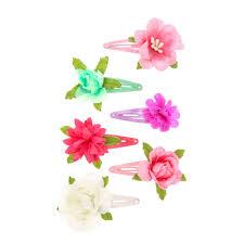 claires hair accessories kids 6 pack secret garden flower hair s us