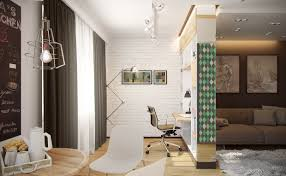 types of 3 small living room designs combined between modern and