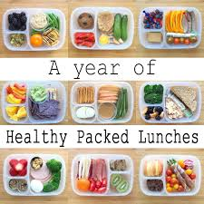 healthy colors a year of healthy packed lunches video