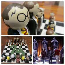 harry potter chess set u0026 case 10 steps with pictures