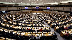siege europeen un siège unique du parlement européen à strasbourg le soir plus