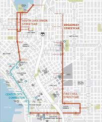 San Francisco Streetcar Map Seattle Washington Boothe Transit