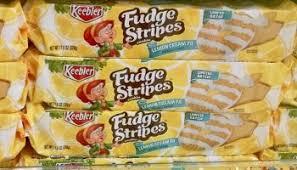 coming soon keebler limited batch lemon cream pie fudge stripes