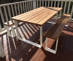Wooden Outdoor Tables Timber Outdoor Tables Australia Lumber Furniture