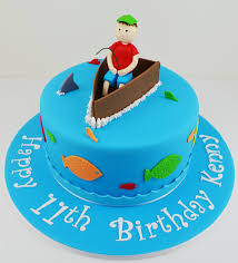 fishing birthday cake ideas for kids 826