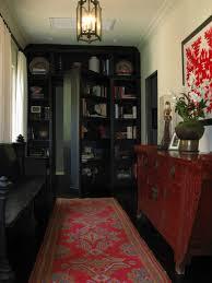 exterior antique bookcase secret passage with retro hardwood and