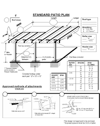 Porch Roof Plans by Free Patio Cover Design Plans Patio Design And Patio Ideas