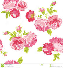 Floral Shabby Chic Wallpaper by Shabby Chic Rose Stock Image Image 27265431