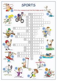 138 free esl crossword puzzle worksheets