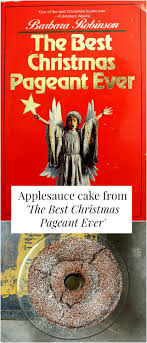 read eat applesauce cake from the best pageant