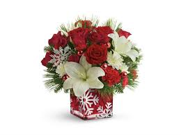 christmas floral arrangements christmas floral arrangements from teleflora brighten up the holidays