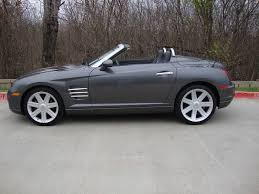 2005 chrysler crossfire limited for sale in plano tx 75074