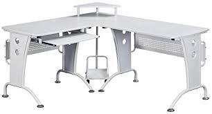 Piranha Corner Computer Desk Genuine Piranha Unicorn Large Corner Computer Desk With Raised