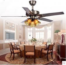 emejing dining room ceiling fans with lights photos home design