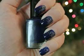 gradient glitter nails for new years deena does it