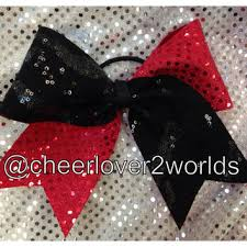 african american cheer hair bows best red and black cheer bows products on wanelo