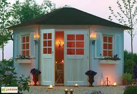 cabane jardin pvc abri de jardin en bois métal pvc résine mon aménagement jardin