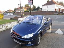 buy new peugeot 206 peugeot 206 convertible 1 6 16v new mot very low mileage car
