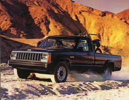 1985 jeep comanche jeep s last load lugger 1986 comanche brochure hemmings daily