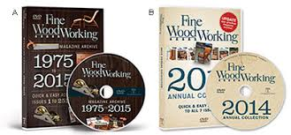 fine woodworking magazine archive dvd roms lee valley tools