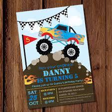monster truck show austin tx monster truck party invitation printable monster jam invite