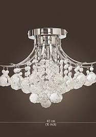 Mini Chrome Chandelier Loco Chrome Finish Crystal Chandelier With 3 Lights Mini Style