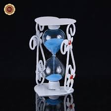 Hourglass Home Decor Buy Wr Europe Style Metal Hourglass Kitchen Decor Glass Timer Sand