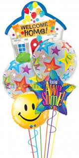 welcome home balloon bouquet home coming balloon bouquets dubai shop or send home coming